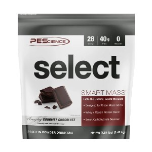 PEScience Select Smart Mass - Best Mass Gainer for Women: 40g Premium Whey and Casein Protein