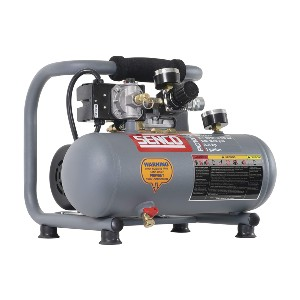 Senco PC1010  - Best Air Compressors for Air Tools: Recovers in around 30-seconds