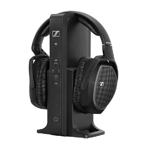 Sennheiser RS 175 RF Wireless Headphone System - Best Wireless Headphones for Movies: Envelops your ears with impressive audio quality
