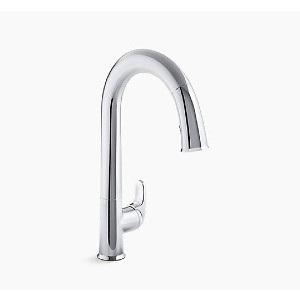 KOHLER Sensate K-72218-CP - Best Touchless Faucets: Superior Clearance for Filling Pots and Cleaning