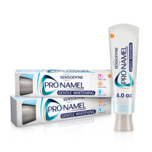 Sensodyne Pronamel Gentle Whitening Enamel Toothpaste - Best Whitening Toothpaste for Smokers: Sensitive Toothpaste That Delivers Minerals Into The Enamel