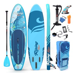 SereneLife Inflatable Stand Up Paddle Board - Best Paddleboard for Yoga: Best popular pick