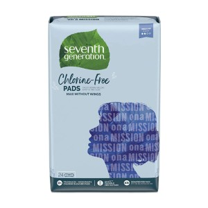 Seventh Generation Maxi Pads - Best Organic Pads for Heavy Flow: Recyclable packaging