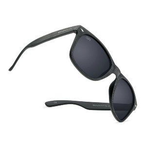 Shady Rays CLASSIC TIMBER Black Polarized - Best Running Sunglasses for Small Faces: Maximum Comfort and Protection