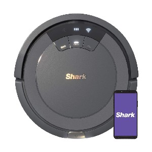 Shark  ION Robot Vacuum AV753 - Best Robot Vacuum Cleaner for Pet Hair: Easy Voice Control