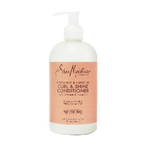 SheaMoisture Curl and Shine Conditioner - Best Conditioner for Curly Hair: Salon Quality Hair Treatment