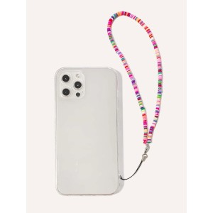 Shein Clear Phone Case With Beaded Lanyard - Best Phone Cases for iPhones: Functional Lanyard Case