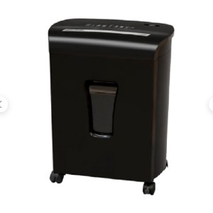 Sentinel FM121P-BLK - Best Paper Shredders for Small Businesses: Overheating Protection and Inspection Window