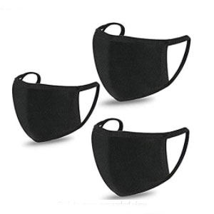 ShuYo 3 PCS Face Mouth Cover - Best Masks for Teachers: Elasticity and Stretchability Mask