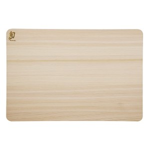 Shun DM0817 Hinoki Cutting Board - Best Cutting Boards for Japanese Knives: Large surface for larger tasks