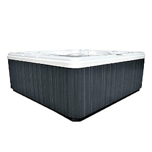 Signature Spas 6 Person Spa Hot Tub 5 Seats 1 Lounger - Best Six-Person Hot Tubs: Hot Tub with MP3 Bluetooth Audio System