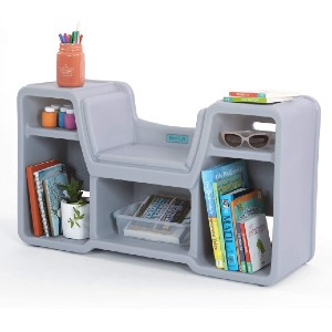 Simplay3 Cozy Cubby Reading Nook Bookshelf  - Best Bookcases for Small Spaces: Bookcase for Kids