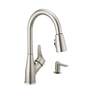PEERLESS P7901LF-SSSD-W - Best Faucets for Kitchen: Includes Convenient Side Sprayer