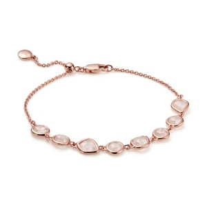 MONICA VINADER Siren Mini Nugget Cluster Bracelet - Best Jewelry for Mother's Day: Contemporary and feminine