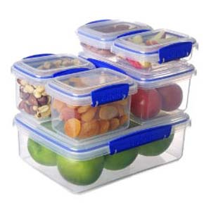 Sistema KLIP IT Food Storage Containers Pack of 10 - Best Food Storage Container: Safe from leaks