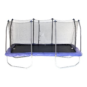 Skywalker Trampolines Rectangle Jump-N-Dunk Trampoline  - Best Home Trampoline for Adults: For those with large yards