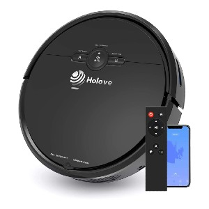 Holove Slim Holove D2 - Best Robot Vacuum Cleaner and Mop: Intelligent Protection