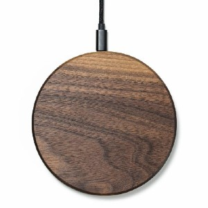 Oakywood Slim Wireless Charging Station - Best Wireless Charger for iPhone: Nylon Braided Cord Included
