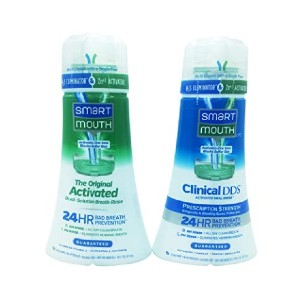 SmartMouth Original Activated & Clinical DDS Mouthwash - Best Toothpaste Bleeding Gums: Best mouthwash pick