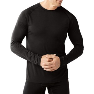 Smartwool Merino 150 Crew Base Layer Long-Sleeve Top  - Best Base Layers for Heavy Sweating: Lightweight Base Layer