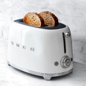 Smeg 2-Slice Toaster - Best Toaster Two Slices: Retro Color Toaster