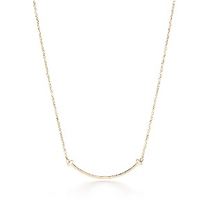 Tiffany & Co.  Smile Pendant  - Best Jewelry for 30th Birthday: Smile Pendant for bigger smile