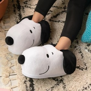 SMOKO Snoopy USB Heated Slippers - Best Foot Warmers for Bed: For Snoopy die-hard fan