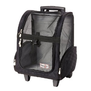 Snoozer 4-in-1 Travel Dog & Cat Carrier Backpack - Best Pet Carriers for Flying: Easy rolling