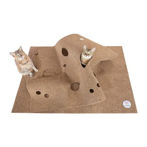 Snuggly Cat The Ripple Rug - Best Cat Toys for Home Alone: Multi-Function Activity Center