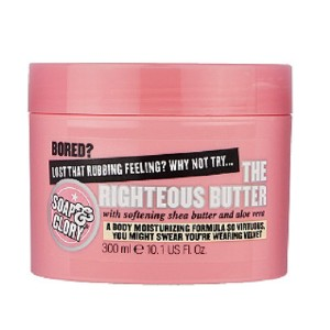 Soap & Glory The Righteous Butter Body Butter - Best Body Butters for Dry Skin: Hydrating Formulation Cream