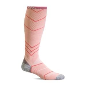 SockWell Incline Women's Athletic Knee Highs  - Best Compression Socks for Edema: Spandex Throughout the Sock
