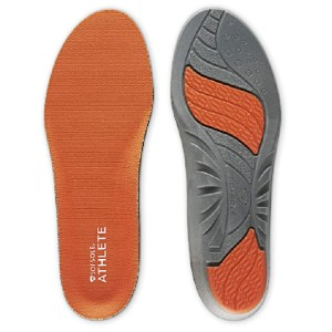 Sof Sole Men's ATHLETE Performance Full-Length Gel Shoe Insert - Best Insoles for Running: Unique Foam and Two Gel Inserts