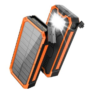 Soluser Solar Charger 30000mAh - Best Solar Panel for Backpacking: Waterproof, dustproof, and shockproof