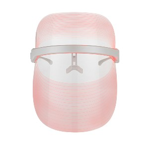 Solaris Laboratories NY How To Glow 4 Color LED Light Therapy Mask - Best Light Therapy Mask for Acne: LED Mask with Safety Goggles