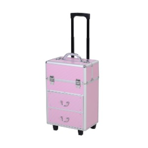 Aosom Soozier  - Best Makeup Train Case: Durable Outer Casing