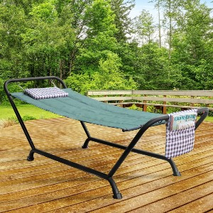 Sorbus Hammock Bed with Stand - Best 2-Person Hammock with Stand: Sturdy Construction Hammock Bed