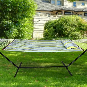 Sorbus Hammock with Stand - Best 2-Person Hammock with Stand: Weather-Resistant Hammock