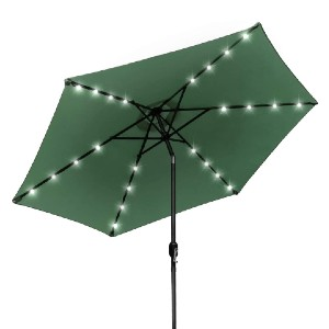 Sorbus LED Outdoor Umbrella - Best Patio Umbrellas with Lights: Matches your garden