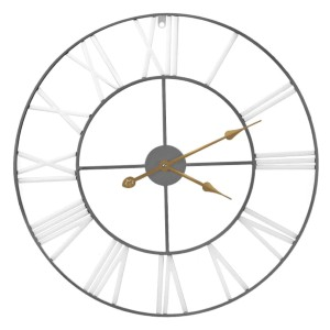 Sorbus Large Decorative Wall Clock - Best Wall Clock for Living Room: Easy to Hand and Lightweight
