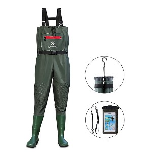 Sougayilang Fishing Chest Waders - Best Bootfoot Waders: Nice knee protection