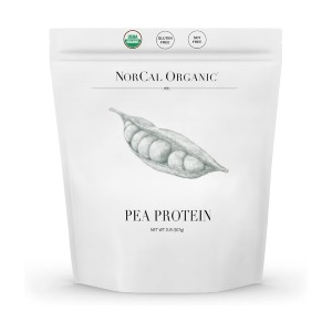 Source Organic Premium Pea Protein Isolate - Best Unflavored Protein Powder: Vegetarian and Vegan Friendly