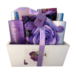 Lovestee Spa Gift Basket - Best Gift for Expecting Mothers: Uplifted and perfumed all day
