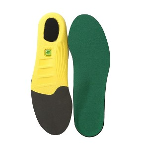 Spenco PolySorb Cross Trainer Insole - Best Insoles for Flat Feet: Four-Way Stretch Fabric Construction