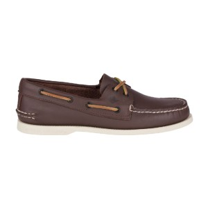 Sperry Men's Authentic Original Leather Boat Shoe - Best Slip-On Sneakers for Men: Durable Slip-On Sneaker