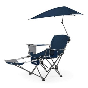 Sport-Brella  3-Position Recliner Chair - Best Folding Chair with Canopy: Lounge in style