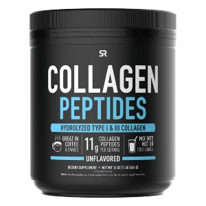 Sports Research Collagen Peptides Powder - Best Collagen Powder for Men: Cattle are Untouched by Drugs or Hormones