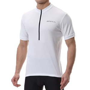 Spotti Men's Cycling Bike Jersey - Best Cycling Jerseys: Zipper Designed for Easily Take On and Off