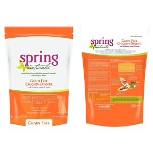 Spring Naturals Grain Free Chicken Dog Food - Best Dog Foods Made in USA: Nutritionally Balanced Food