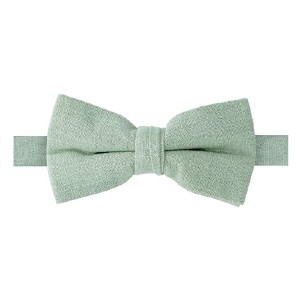Spring Notion Men's Linen Blend Bow Tie  - Best Bow Ties on Amazon: Simple on and off
