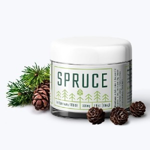 SPRUCE TOPICAL CBD CREAM - Best CBD Cream for Itching: Natural Plant-Derived Scents